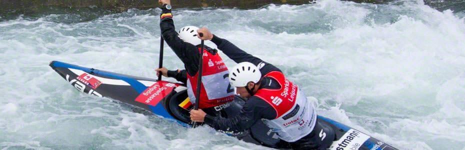 Startnummern-Leibchen Wassersport im Kanupark Markkleeberg