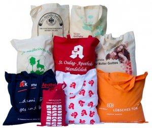 Vorschaubild für Apothekertaschen in verschiedenen Farben