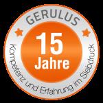 15 Jahre GERULUS – textile Werbeartikel