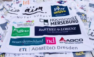Sponsoring Leibchen für den Lauf von Robby Clemens vom Nordpol zum Südpol